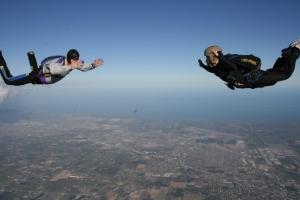 Flying with My Instructor Glenn