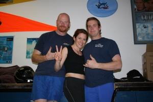 Glenn (my instructor, iV & Anthony (camera flyer)