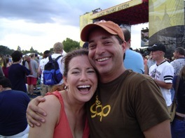 iV n LG at the Lance Armstrong #7 Fest