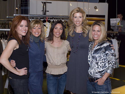 From left, me, Kimberley Key, Kim Overton, Traci Fenton and Krisstina Wise
