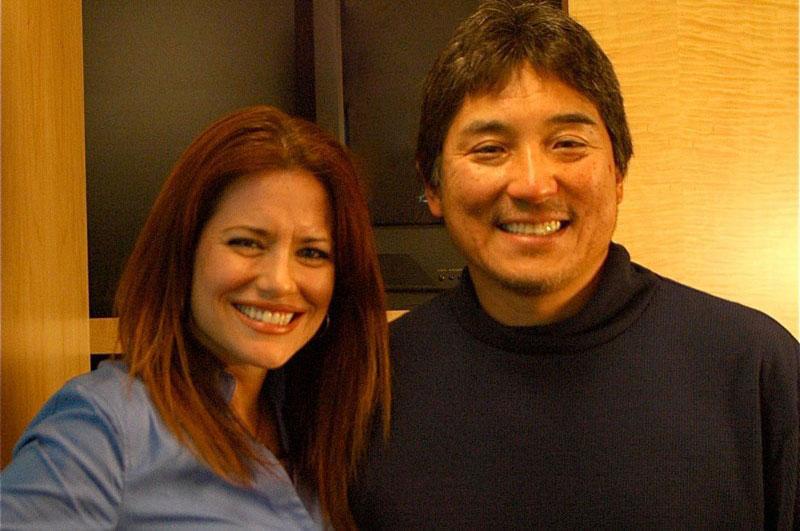Guy Kawasaki with friendly, fun, Wife Beth