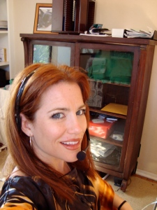 Getting ready to film On The Road with iV- this past Wed April 1, 2009