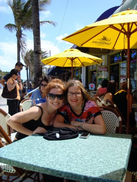 iV and Sarah hanging in Miami talking about Stalkers & Margaritas!!!