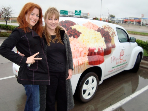 With co-founder (along with TOny) Malgosia Monje of Ultimate Cupcake!