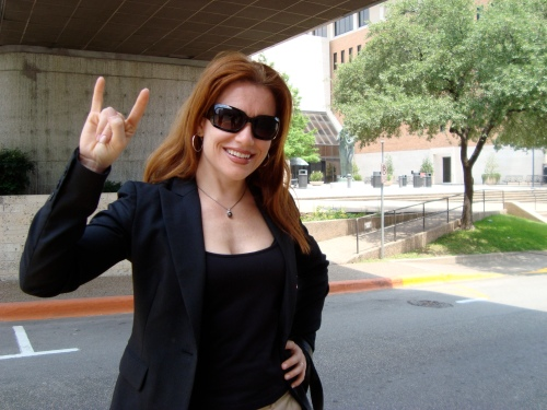 Arriving in Austin- stop by my MBA alma mater- UT Austin McCombs School of Business