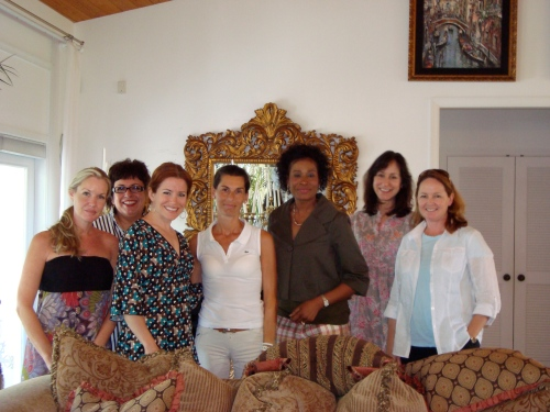 From left- members of the YPO 2009 Provisionals- Vicki, Martha, me, Nicole, Emeline, Lisa and Maggie